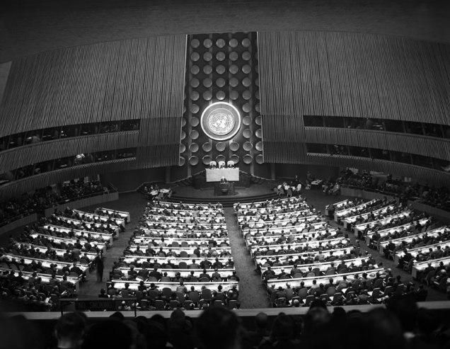 Source: UN Photo (14 October 1952)